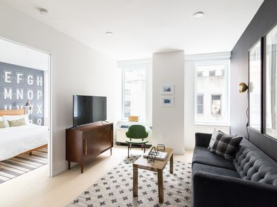 Photo for Sonder | Wall Street | Premier 2BR + Kitchen