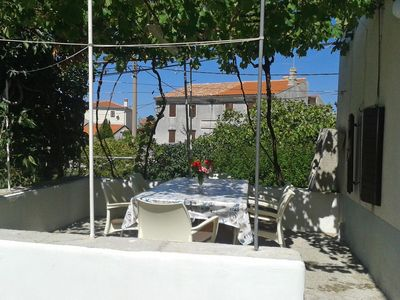 Photo for Three bedroom apartment with terrace Stivan (Cres)