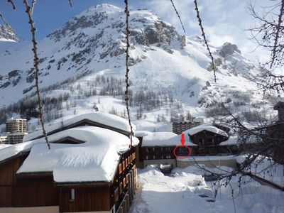 Photo for STUDIO CABIN VAL D'ISERE CENTER with parking