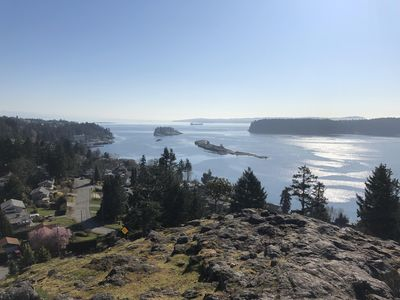 Photo for ~Couples Retreat w/ Views ~ Beach/Coffee/Modern~ In the ❤️  of Departure Bay~