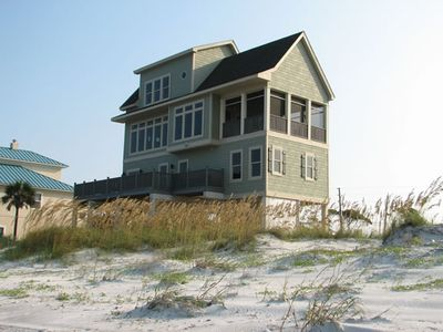 Photo for Jubilee:  5BR Gulf Front, Pet Friendly house on Cape San Blas