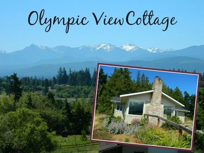 Photo for Olympic View Cottage with panoramic views and walking distance to beach