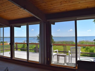 Photo for Ocean Front, Private Beach, Harbor & Bay Views, Secluded