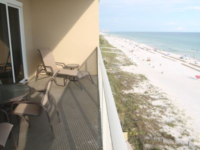Photo for Awesome views from this Condo! 3 bedrooms, 2 baths right on the beach!