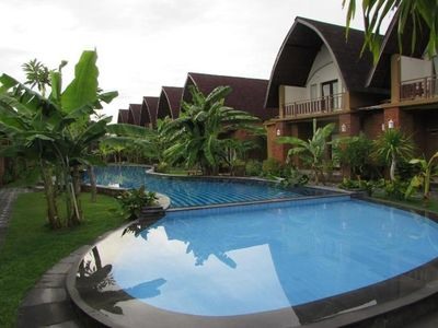 Photo for Continental Separated 7Room at Sanur walk to Beach
