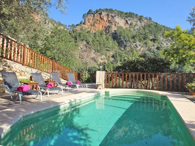 Photo for Wonderful villa in Fornalutx. Private swimming pool.