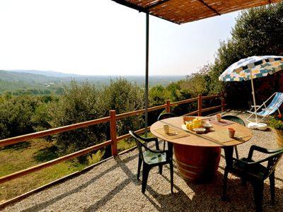 Photo for Apartment on two levels in Farmhouse L'OLEANDRO 4 PAX with Restaurant