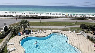 Pool in front of the Beach
