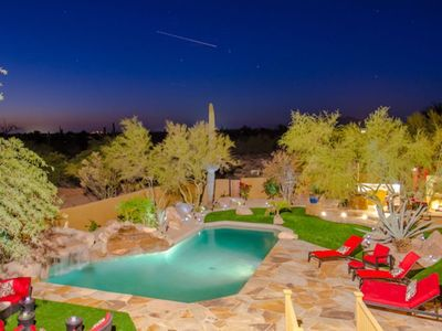 Photo for AWESOME 5 Star Luxury Estate, Resort Style Backyard, Kierland & Troon