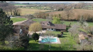 Photo for Large 18thC Character Villa with Private Heated Pool, Gym, Games room and A/C