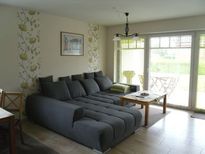 Photo for Exclusive, family friendly quiet apartment with terrace and large garden