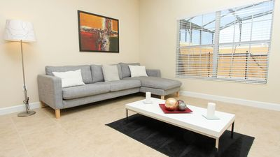 Photo for Modern Bargains - Paradise Palms Resort - Welcome To Contemporary 4 Beds 3 Baths  Pool Villa - 4 Miles To Disney