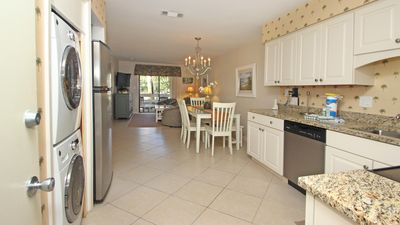 Photo for 1st floor  2 pools 10 tennis courts 3 minute walk to beach Located mid island
