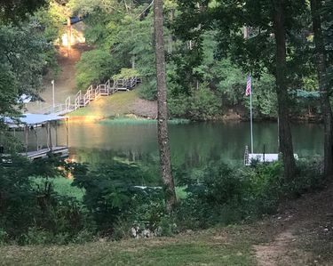 Photo for Lakefront Lodge: Private Dock, Great Fishing, Boating, & Comforts of Home
