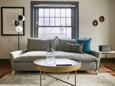 Photo for Sonder | The Essex | Elegant 1BR + Sofa Bed