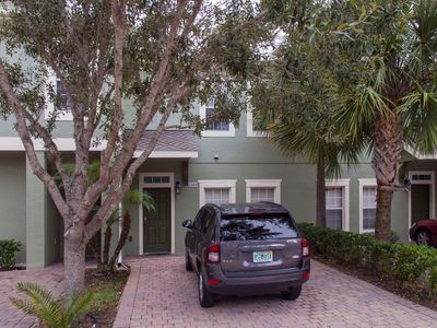 Photo for Nice Townhome near Orlando's Themeparks with private Jacuzzi & heated Pool