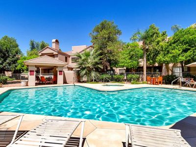 Villa Antigua offers a QUIET Resort feel in the heart of Scottsdale!