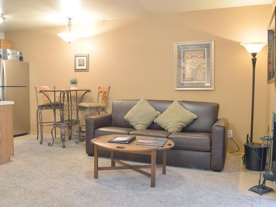 Photo for Deluxe, Spacious Condo in the Heart of Prospector Square w/ Full-size Kitchen