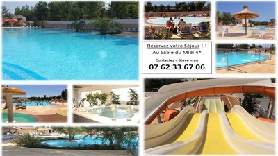 Photo for JSMobil Home 1/8 Pers Holidays 4 * Clim- terrace ...