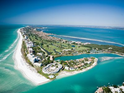 Photo for Paradise Views, Five Steps And You're On The Sand With This Longboat Key Condo