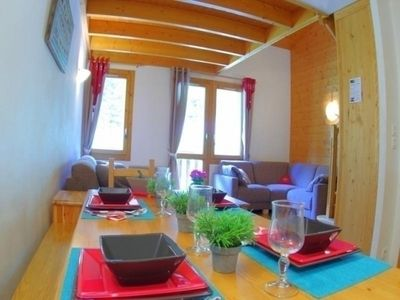 Photo for Apartment Valmorel, 4 bedrooms, 9 persons