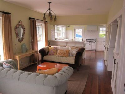 Living Room through to Kitchen