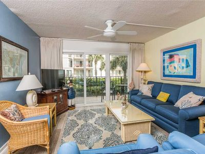 Photo for Spacious Oceanfront Condominium Great for Small Families! Pool, Beach Access, Fitness!