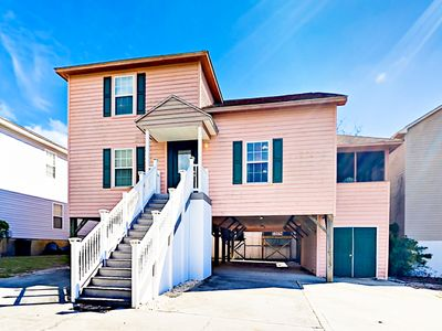 Photo for Spacious 4BR w/ Golf Cart, Sun Porch & All-Suite Bedrooms – Walk to Beach