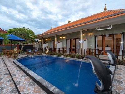 Photo for Sundi Ocean Bungalow with Deluxe Room Pool Access