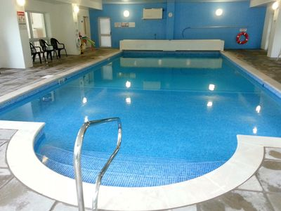 Photo for Large luxury Devon house with huge indoor pool and hot tub, sleeps 26