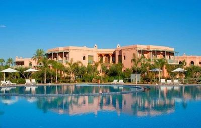 Photo for A royal apartment in the palm grove-Marrakech