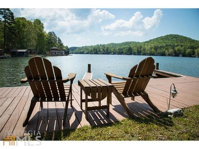 Photo for Cabin Getaway w/ Mountain Views and Lake Access w/ HOT TUB!!