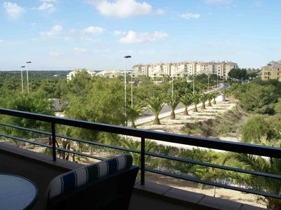Photo for Superb apartment right on beautiful 18-hole golf course on the Costa Blanca
