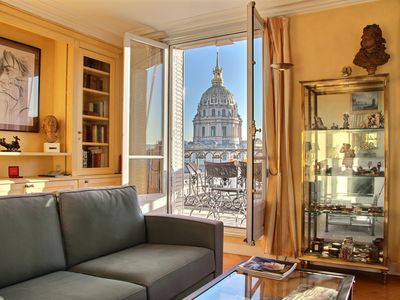 Photo for Incredible views on the Invalides - 2BD/2BTH with A/C in the 7th
