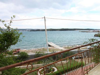 Photo for Three bedroom apartment near beach Pašman