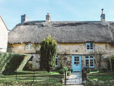 Photo for Yarrow Cottage, A Beautifully Designed Thatched Cottage In The Cotswolds