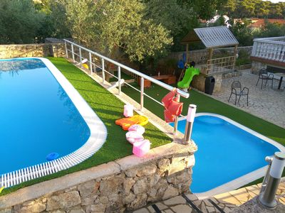 Photo for Villa LUKA for 25 people - pools, children area, fitness, bar, sauna