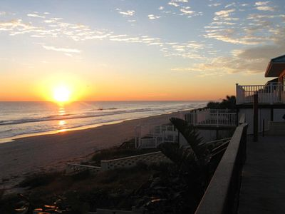 Photo for Oceanfront 4 Bedroom House minutes away from the World Famous Daytona Beach