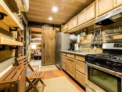 Photo for Blue Steel: Tiny Home In The Cedars