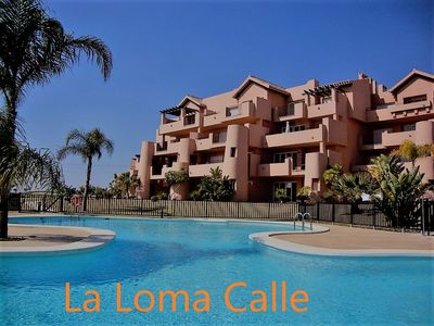 Photo for La Loma Calle |3 bed luxury apartment | Ground floor |Families & Golfers |