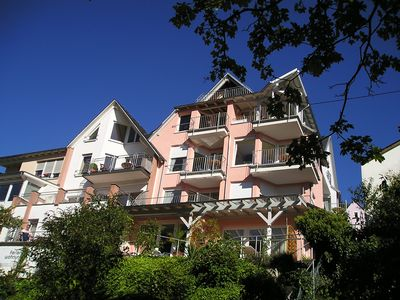 Photo for Apartment Kapellenberg with balcony and Moselle view