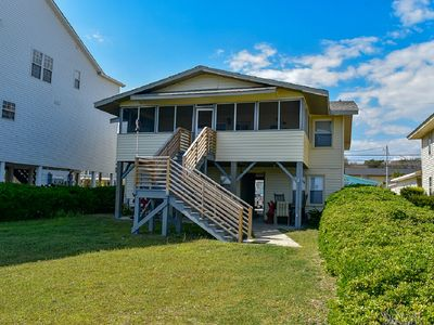 Photo for OCEANFRONT 5 Bedroom 3.5 Bath Beach House With LOTS of Charm!!