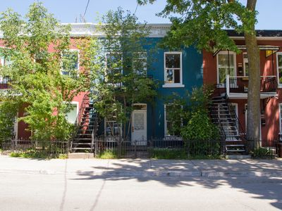 Photo for Charming 3 bedroom upper duplex condo in the heart of the Plateau Mont-Royal