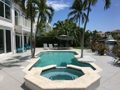 Photo for Waterfront Estate Exclusive-Paradise Lighthouse Point Florida Private Pool/Spa