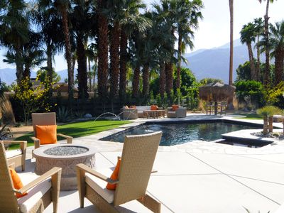 Photo for Luxury Rustic Modern, Newly Remodeled; Views + Privacy + Salt Water Pool & Spa