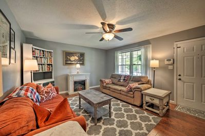 Kick back and relax inside 1,400 square feet of living space.