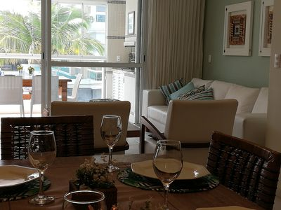 Photo for High Standard-Resort All Time -4dorm / 3suítes-Balcony w / Grill- at 100m beach