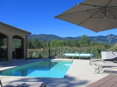 Photo for Beautiful, comfortable villa with private pool, 1 km from the picturesque Jaujac