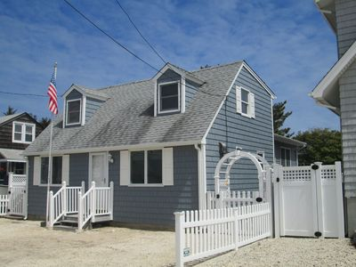 Photo for Beach Haven, LBI cape-  10 HOUSES TO THE BEACH AND SLEEPS 10 !!