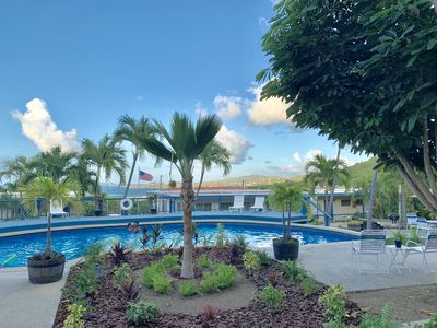Photo for Caribbean views, w/ Pool and AC in Christiansted. Minutes to the beach.